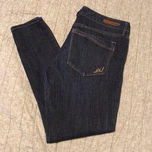 Express low rise legging jeans